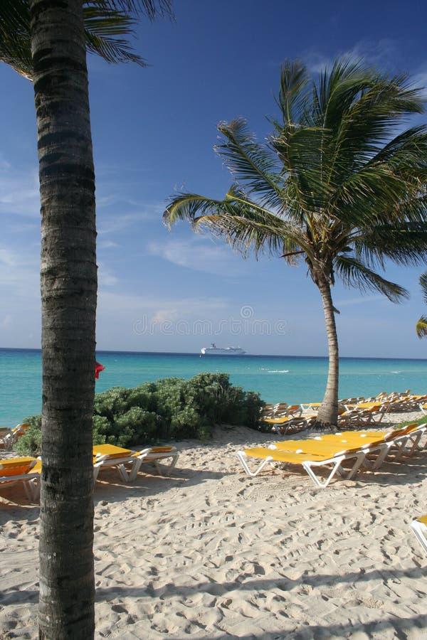 playa Мексики del carmen стоковые изображения rf