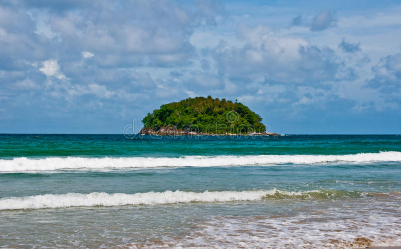 Playa 2011 de Kata foto de archivo