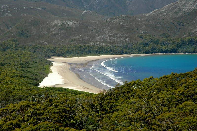 Playa aislada imagenes de archivo