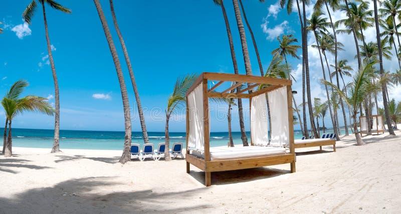 Playa alejada foto de archivo