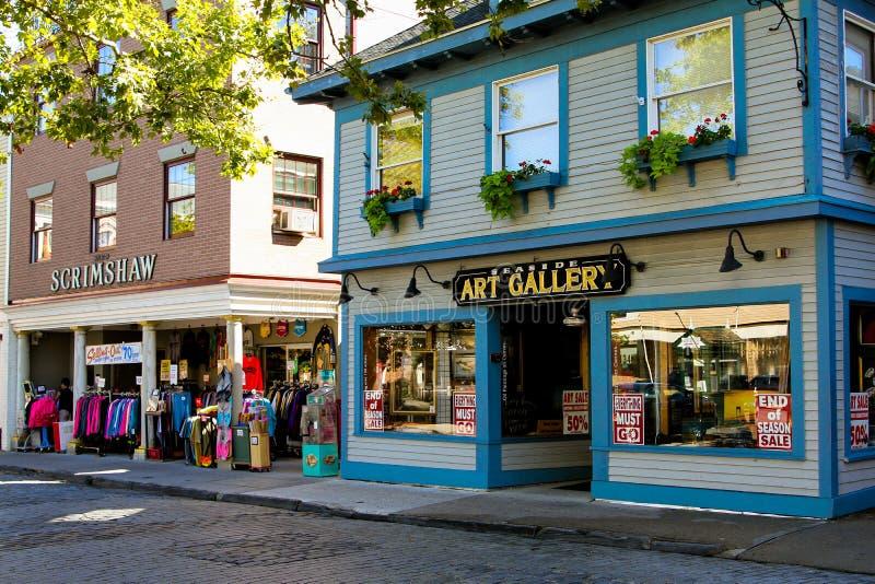 Playa Art Gallery, Newport, RI fotos de archivo libres de regalías