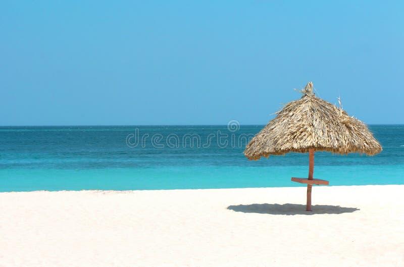 Playa asoleada 1 foto de archivo libre de regalías