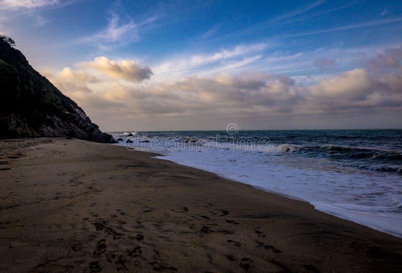 Playa asombrosa fotografía de archivo libre de regalías