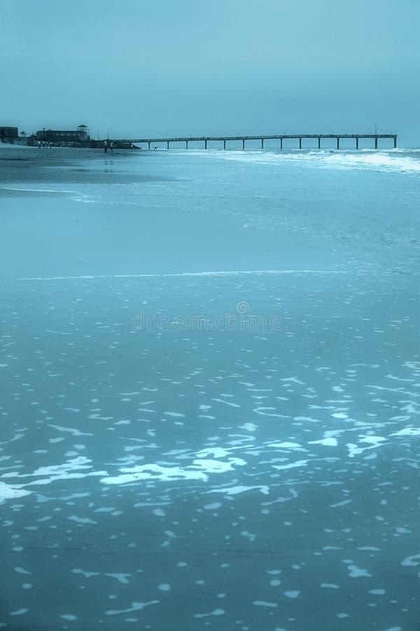 Playa Azul Fotografía de archivo
