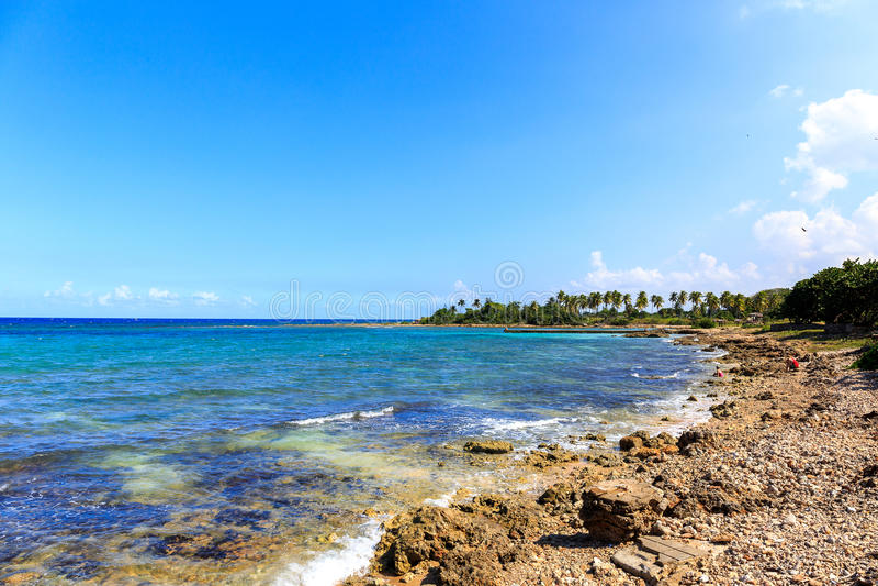 Playa Baracoa foto de archivo
