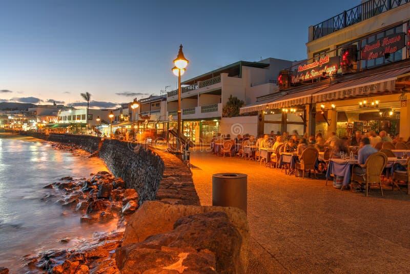 Playa Blanca, Lanzarote, Canary Islands, Spain stock photography
