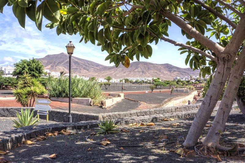 Playa Blanca royalty free stock photography