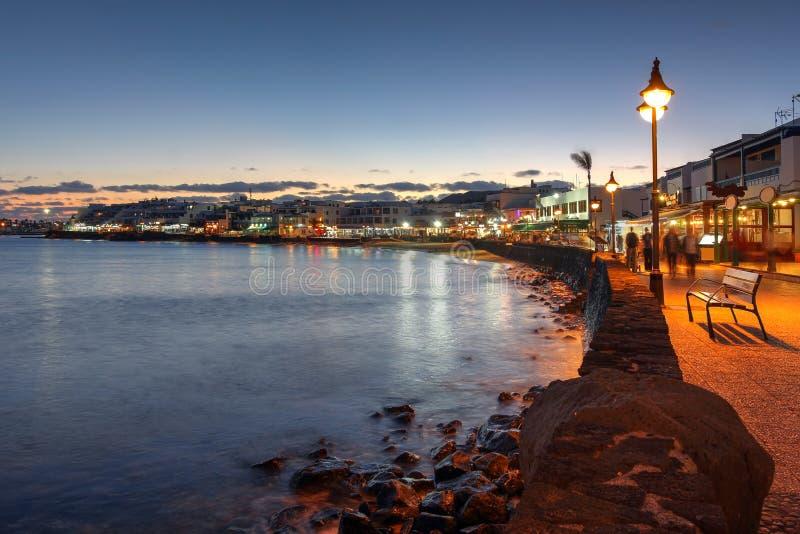 Playa Blanca, Lanzarote, Spain royalty free stock images