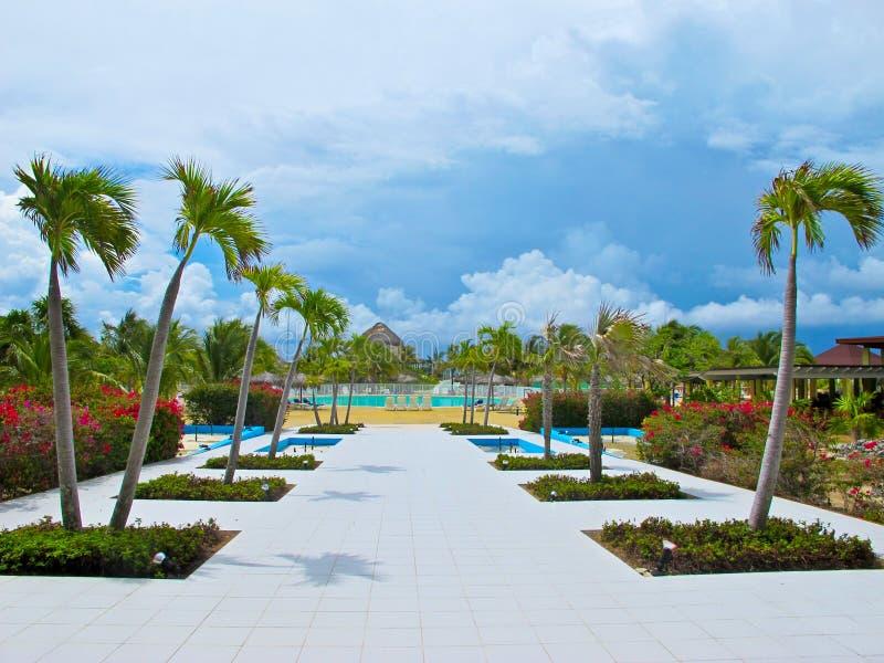 Playa Blanca (Resort), Cayo Largo, Cuba stock photography