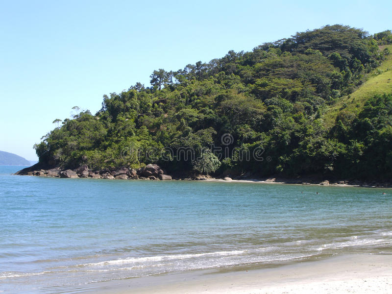 Playa brasileña imagenes de archivo