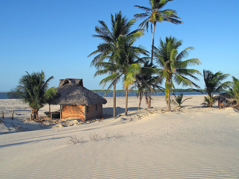 Playa brasileña imagen de archivo