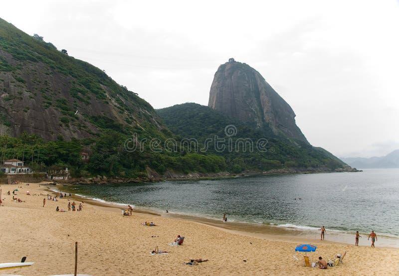 Playa brasileña imágenes de archivo libres de regalías