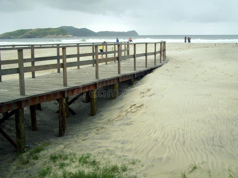 Playa brasileña imagen de archivo libre de regalías