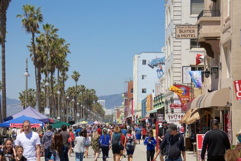 Playa California de Venecia imagen de archivo