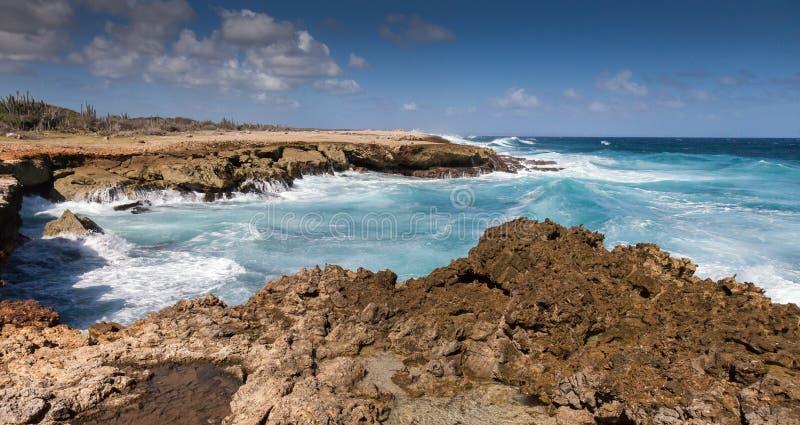 Playa Canoa 免版税图库摄影