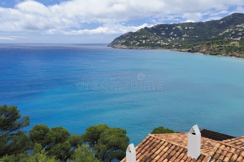 Download Playa Canyamel i Mallorca fotografering för bildbyråer. Bild av hotell - 27288037