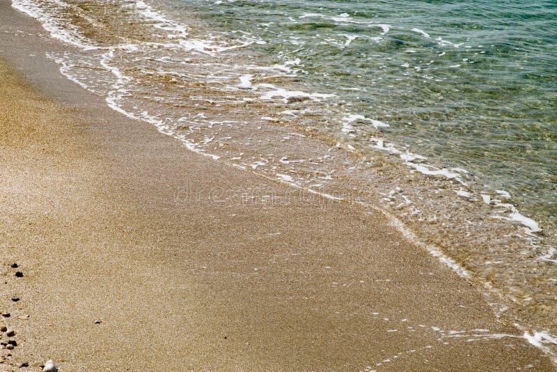 Playa Cesaria del puerto Israel imagen de archivo libre de regalías
