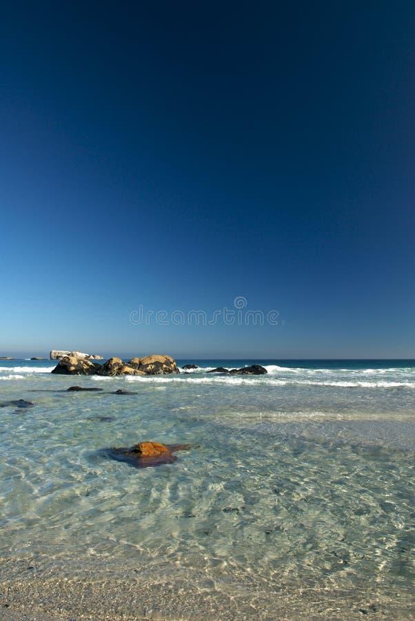Playa Ciudad del Cabo de Clifton fotografía de archivo