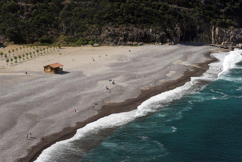 Playa corsa fotografía de archivo