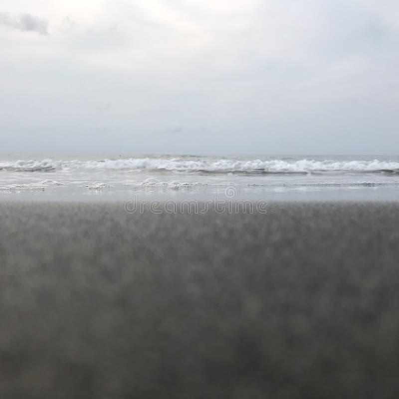 Playa Costa Rica de Puerto Viejo foto de archivo