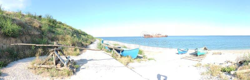 playa Costinesti, Rumania El Mar Negro imagenes de archivo