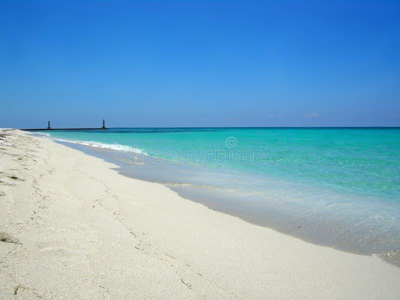 Playa Cuba de Varadero imagenes de archivo