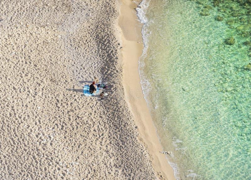 Playa de Andratx, Mallorca fotografía de archivo