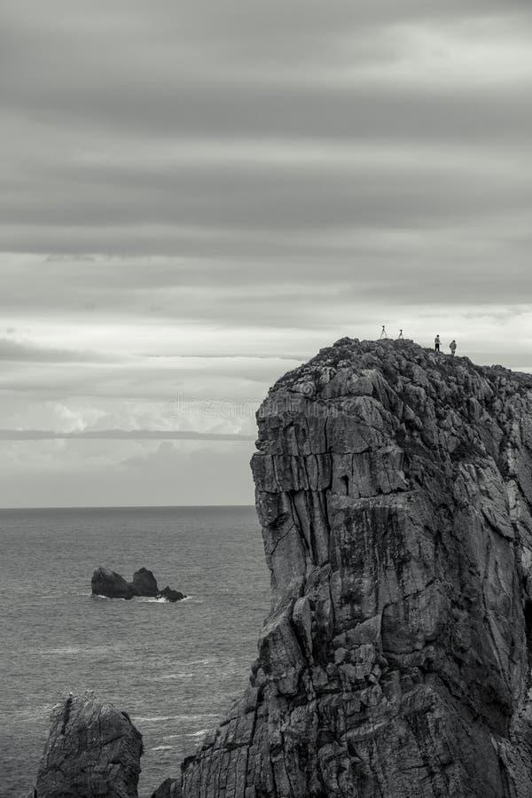 Playa de Arnia στοκ εικόνα