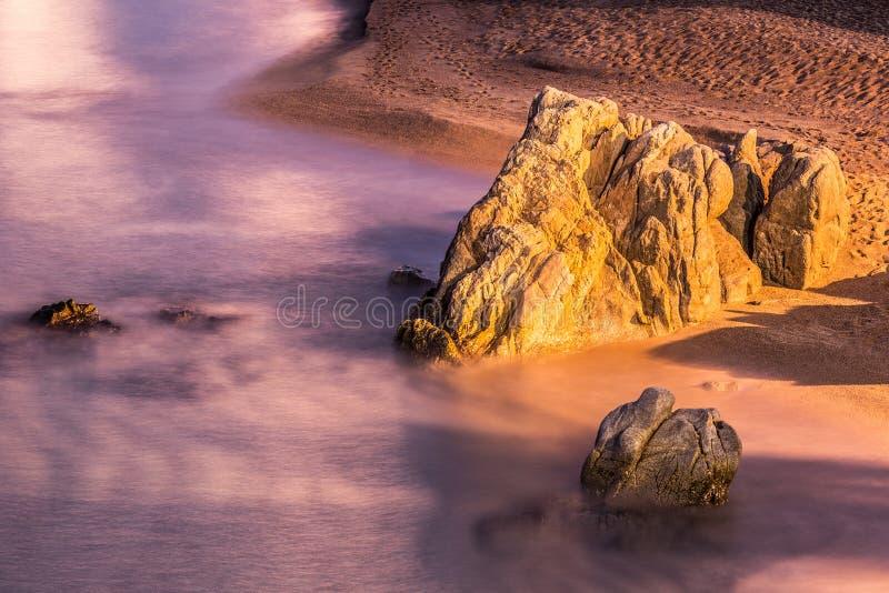 Playa de aro arkivbild