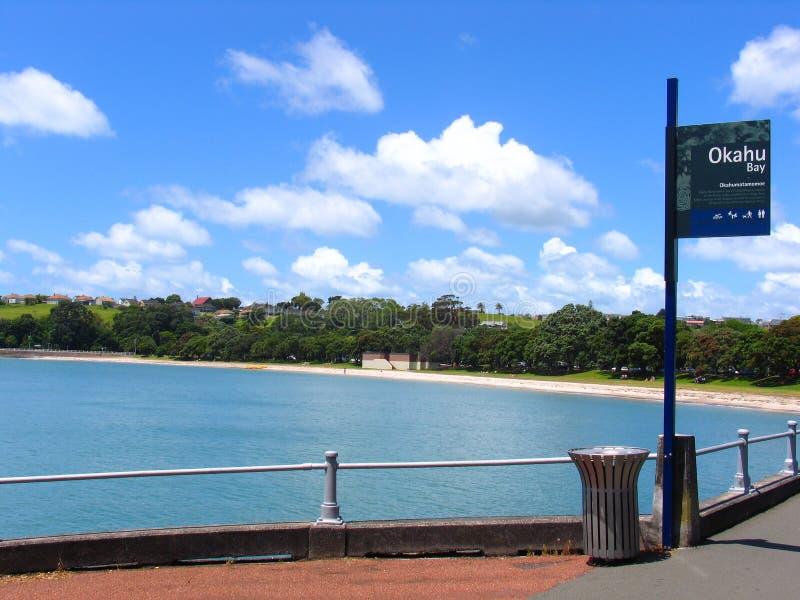 Playa de Auckland imágenes de archivo libres de regalías