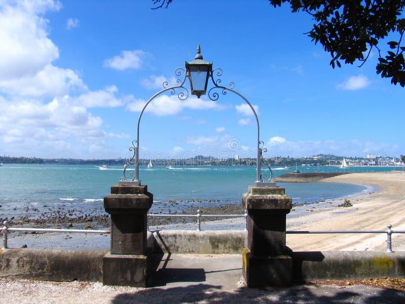Playa de Auckland fotos de archivo libres de regalías