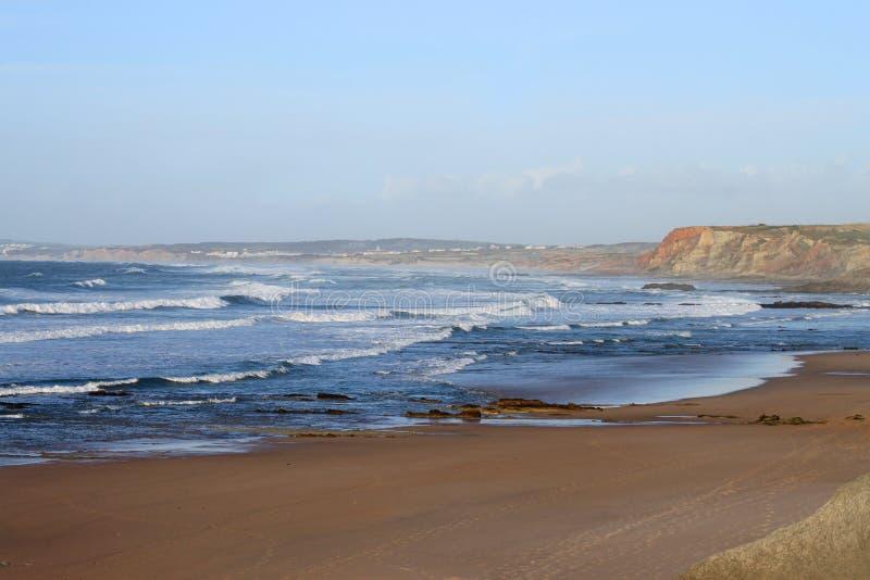 Playa de Baleal, Portugal foto de archivo libre de regalías