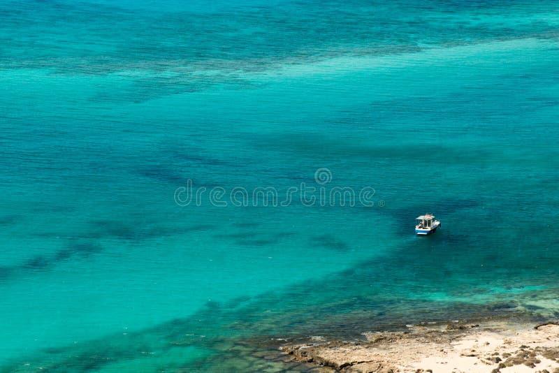 Playa de Balos fotografía de archivo libre de regalías