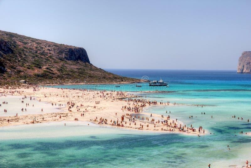 Playa de Balos imagenes de archivo