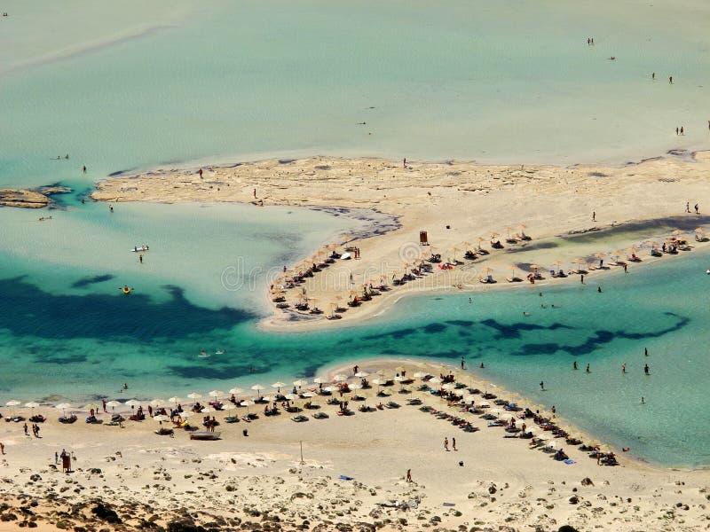 Playa de Balos en Creta imágenes de archivo libres de regalías
