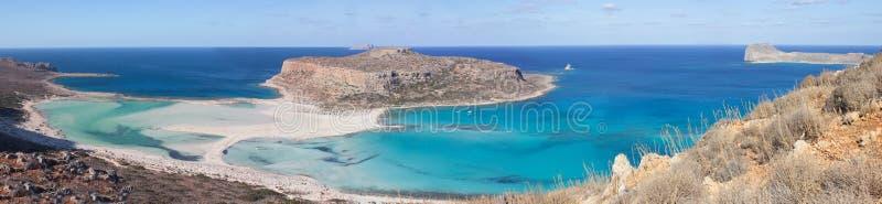 Playa de Balos y x28; Crete& x29; imagen de archivo libre de regalías