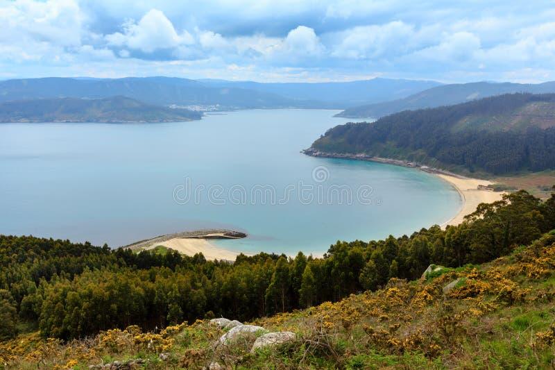 Playa DE Bares Spanje stock fotografie