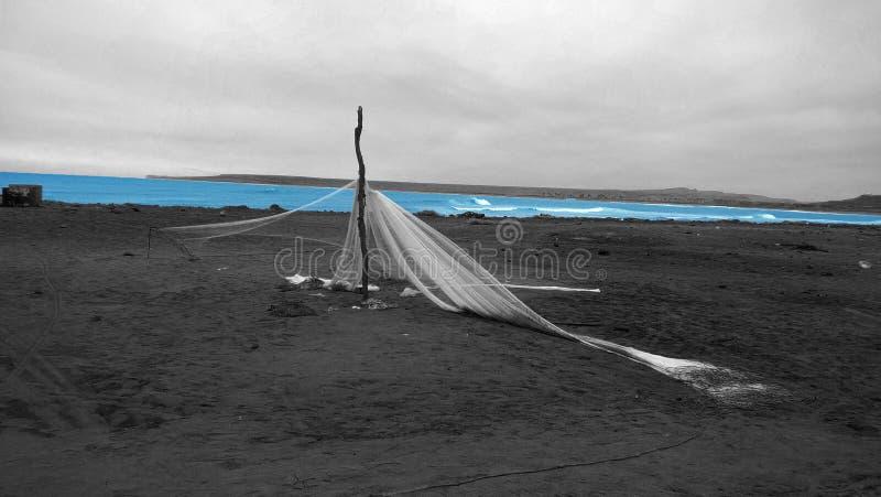 Playa de Bentiaba imagen de archivo libre de regalías