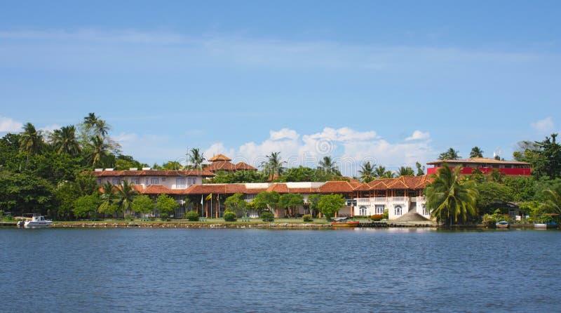 Playa de Bentota, Sri Lanka imagen de archivo libre de regalías