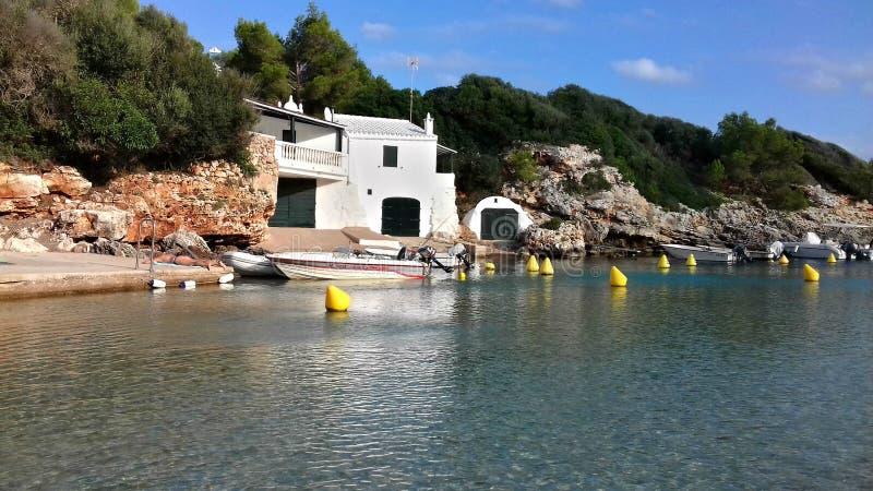 Playa de Binisafuller, Menorca fotos de archivo libres de regalías