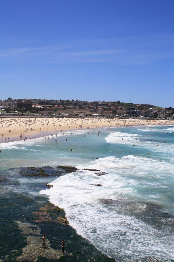 Playa de Bondi foto de archivo libre de regalías
