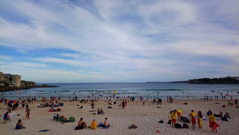 Playa de Bondi foto de archivo