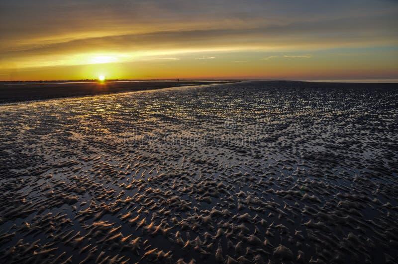 Playa de Brancaster fotografía de archivo libre de regalías