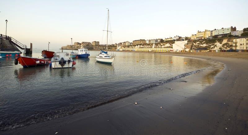 Playa de Broadstairs imagen de archivo libre de regalías
