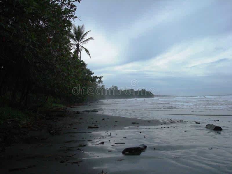 Playa de Cahuita - Costa Rica fotografía de archivo libre de regalías