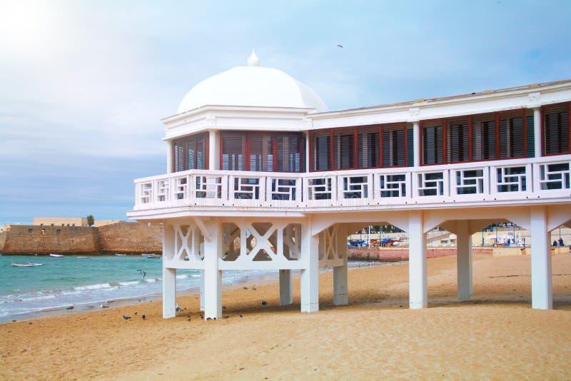 Playa de Caleta del La imagen de archivo