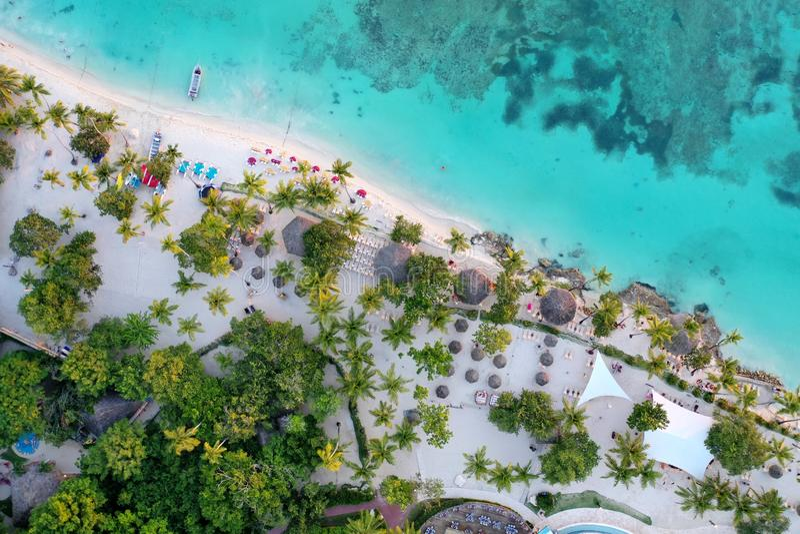 Playa de Cana de las bateas fotos de archivo