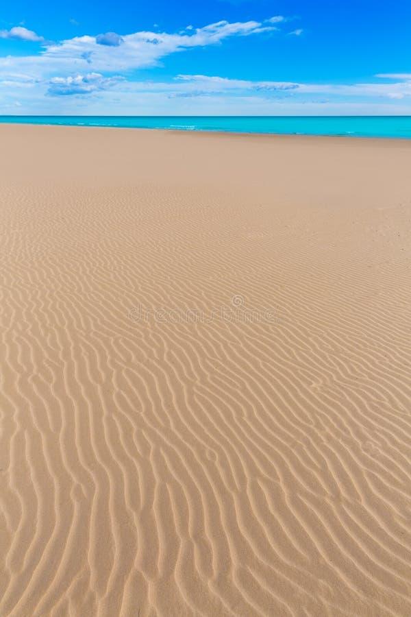 Playa de Canet de Berenguer en Valencia en España fotos de archivo libres de regalías