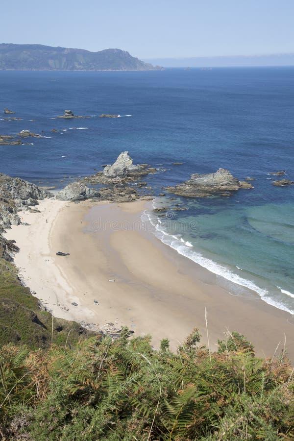 Playa de Carro; Espasante; Galicia imágenes de archivo libres de regalías