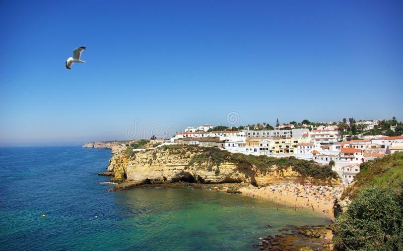 Playa de Carvoeiro. fotos de archivo libres de regalías